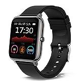 Smartwatch, Reloj Inteligente con Pulsómetro, Cronómetros, Calorías, Monitor de Sueño,...