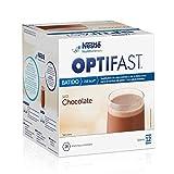 Optifast® Batido - Chocolate - 12 sobres de 55 g - Sustitutivos de comida - Ayuda para...