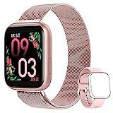 AIMIUVEI Smartwatch Mujer, Reloj Inteligente Mujer con 1.4 Inch Táctil Completa con...
