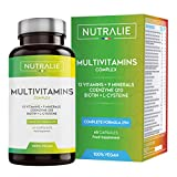 Multivitaminas y Minerales + Coenzima Q10   Complejo Multivitaminico Vegano 29 Nutrientes...