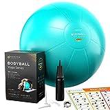 Pelota de Pilates   Balón de Ejercicio   Bola de Embarazada, Yoga, Fitness y Gimnasio -...