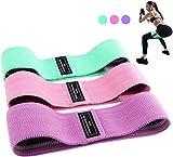 Bandas Elasticas Gluteos, Juego de 3 Bandas Elásticas Musculacion para fitness con 3...