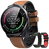 Reloj Inteligente Hombre, Hommie Smartwatch Hombre de Pantalla Táctil Ccompleta...
