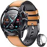 AGPTEK Smartwatch Hombre, Reloj Inteligente de HD Pantalla Táctil Completa Impermeable...