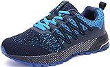 SOLLOMENSI Zapatillas de Deporte Hombres Mujer Running Zapatos para Correr Gimnasio...