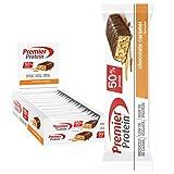 Premier Protein Protein Bar Chocolate Caramel 24x40g - Barras de Proteína con Bajo...