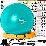Pelota de Pilates | Balón de Ejercicio | Bola de Embarazada, Yoga, Fitness y Gimnasio -...